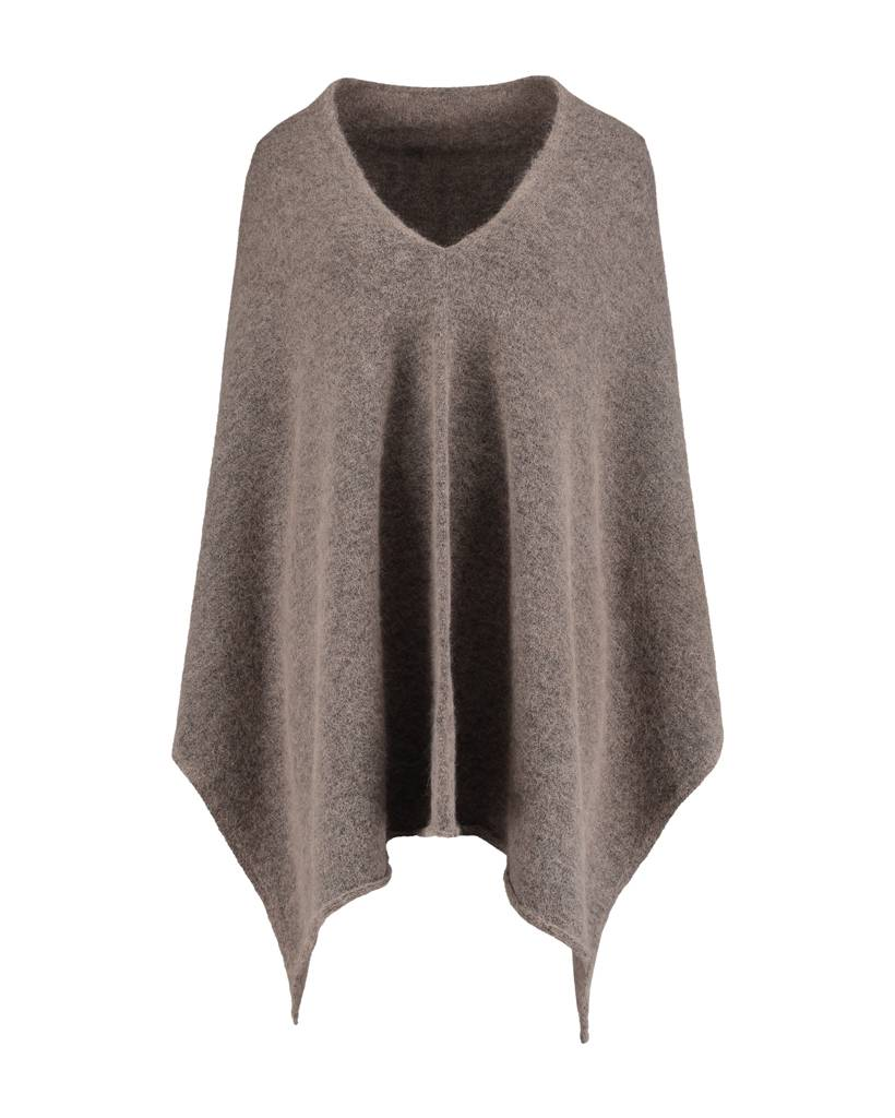 SYLVER Top Line Shawl - Taupe