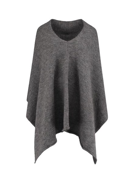 SYLVER Top Line Shawl - Charcoal