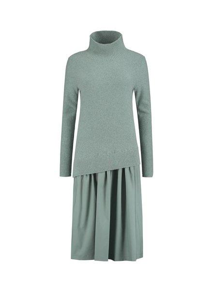 SYLVER Superb Dress - Licht Grijsblauw