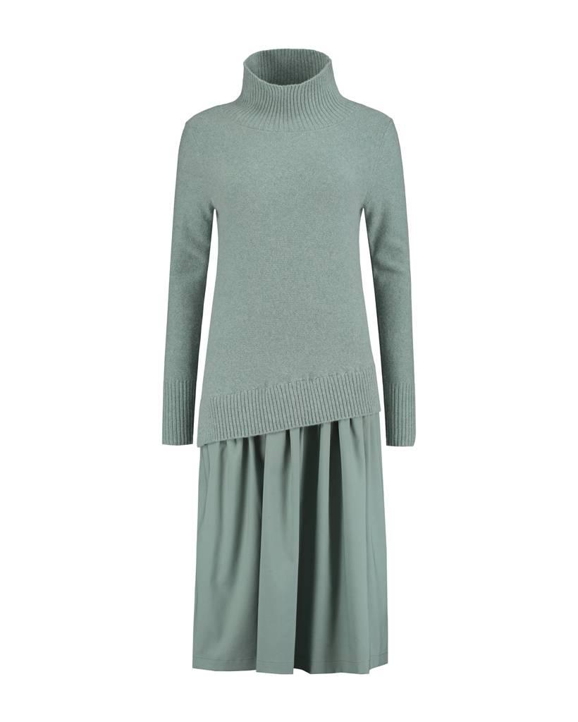 SYLVER Superb Dress - Light Smoke