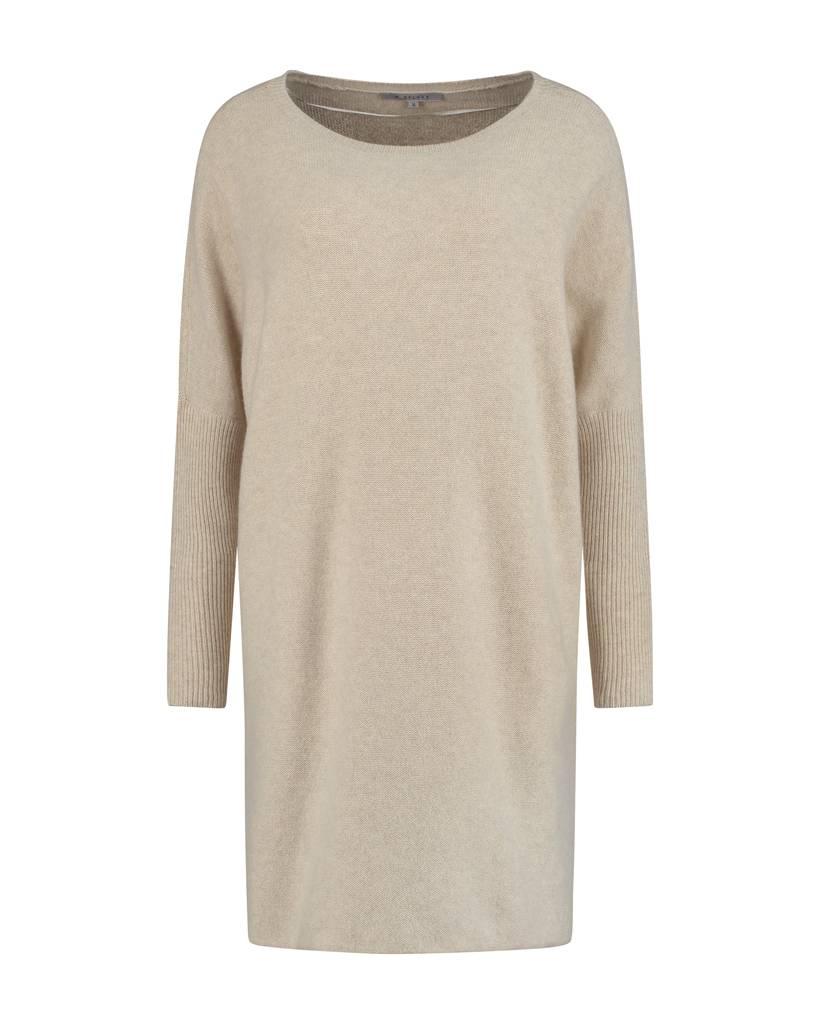 SYLVER Superb Pull long - Wool White
