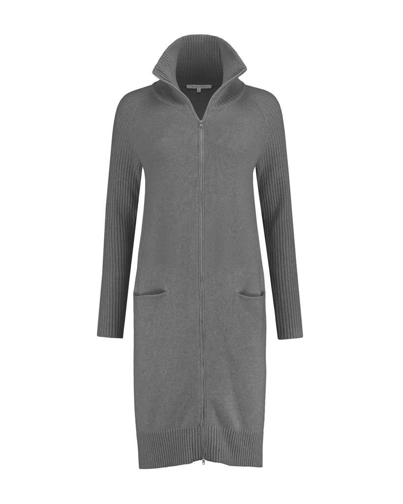 SYLVER Superb Cardigan zipper - Grey