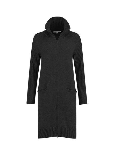 SYLVER Superb Cardigan zipper - Zwart