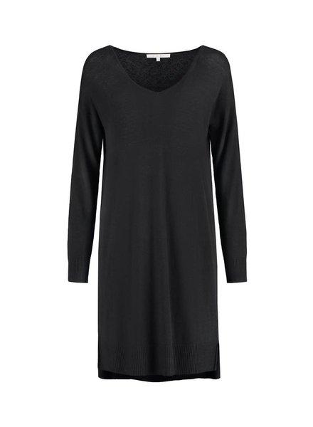 SYLVER Fine Knit Tunic - Black