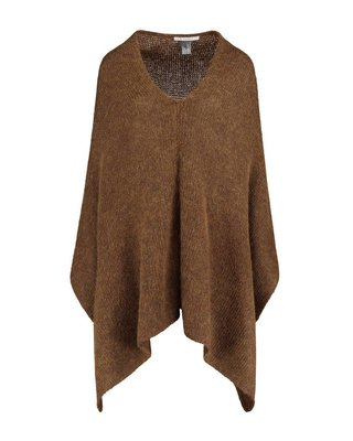SYLVER Woolmix Shawl - Dark Gold
