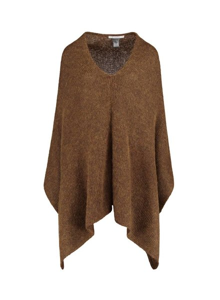 SYLVER Woolmix Shawl - Donker Goud