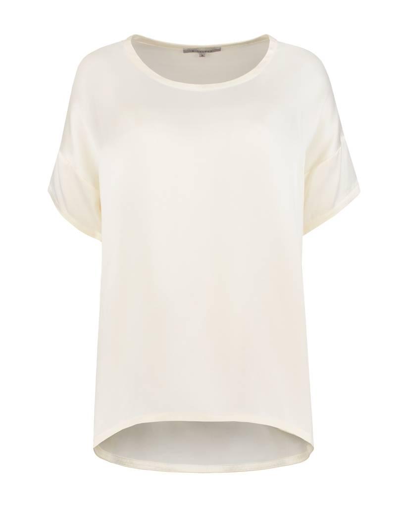 SYLVER Washed Silk Shirt - Wool Wit