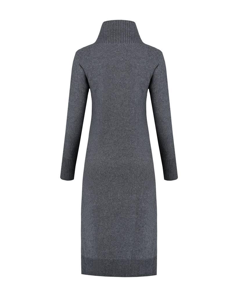 SYLVER Superb Dress - Grijs