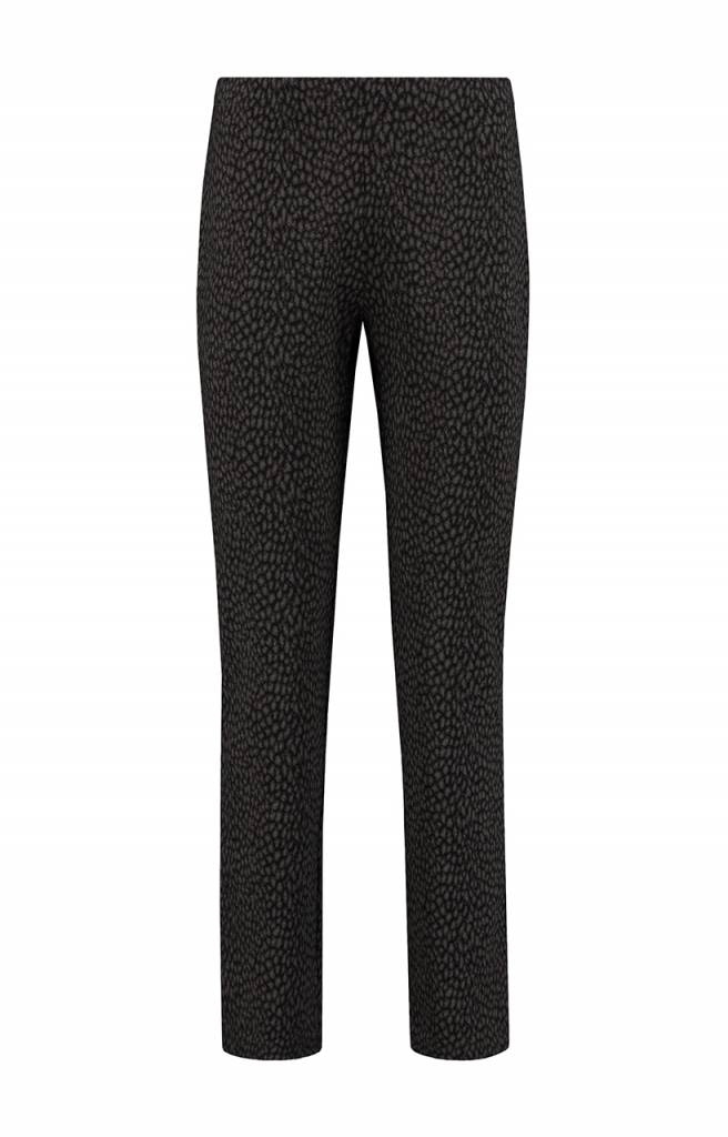 SYLVER Panther Trousers Straight - Brown Sugar
