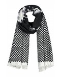 SYLVER Shawl Cloud - Black