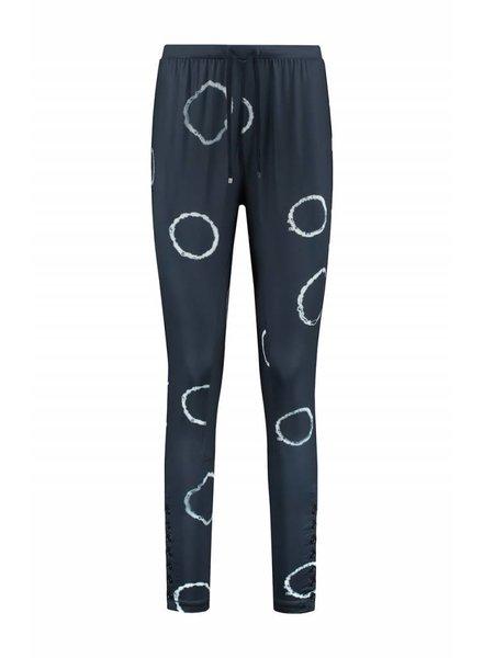 SYLVER Tye and Dye Trousers fancy - Jeansblauw