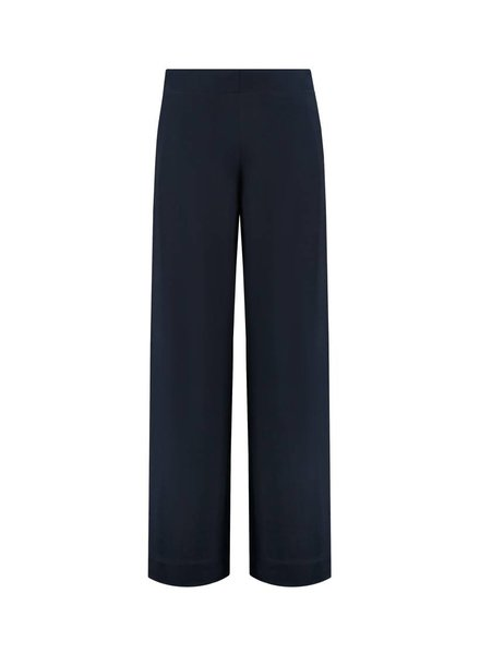 SYLVER Crêpe Stretch Pants - Navy