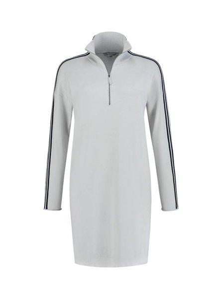 SYLVER Cotton Comfort Tunic - Kiezelgrijs