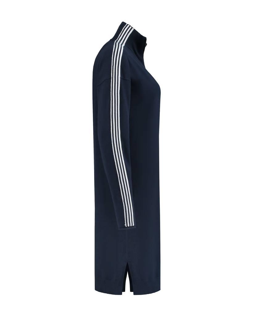 SYLVER Cotton Comfort Tunic - Marineblauw