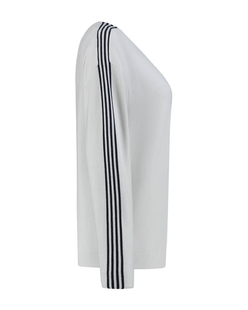 SYLVER Cotton Comfort Pullover - Kiezelgrijs