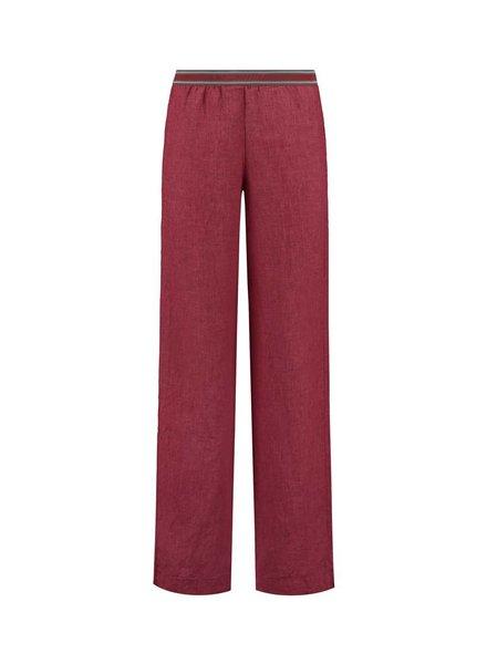 SYLVER Sahara Trousers - Donkerrood