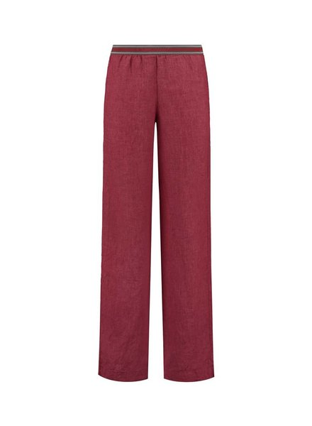 SYLVER Sahara Trousers - Warm Red