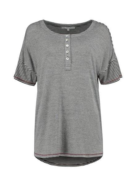 SYLVER Fil à Fil Shirt - Zwart