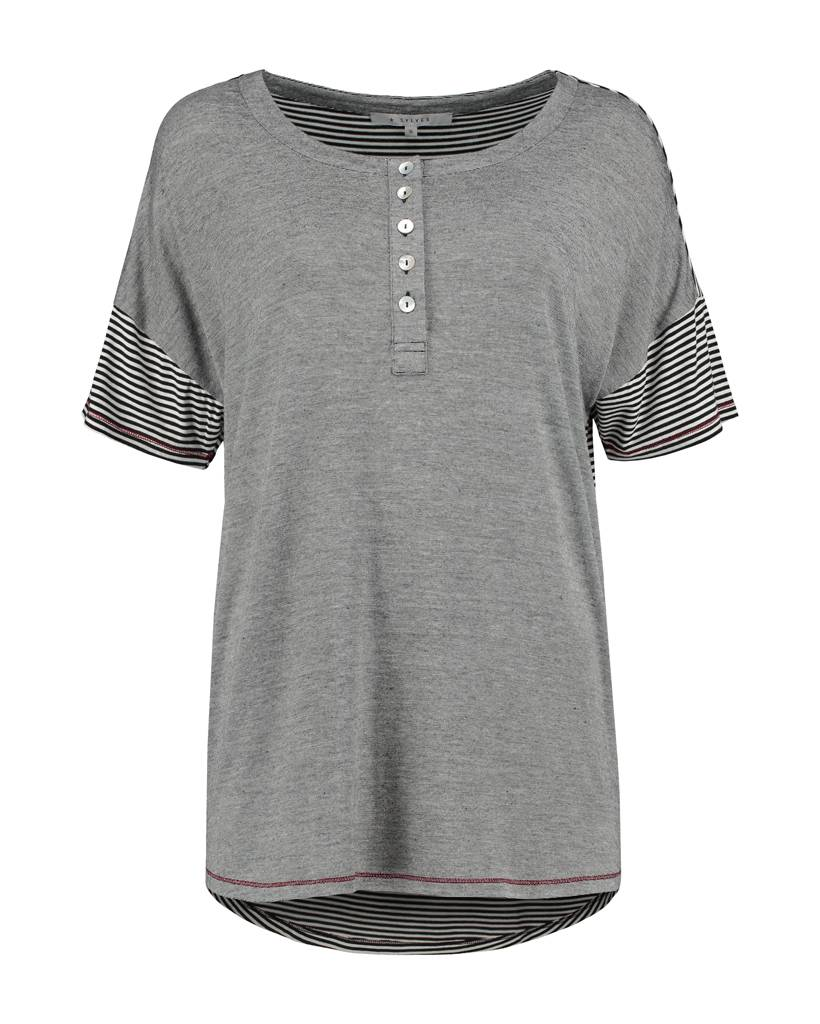 SYLVER Fil à Fil Shirt - Black