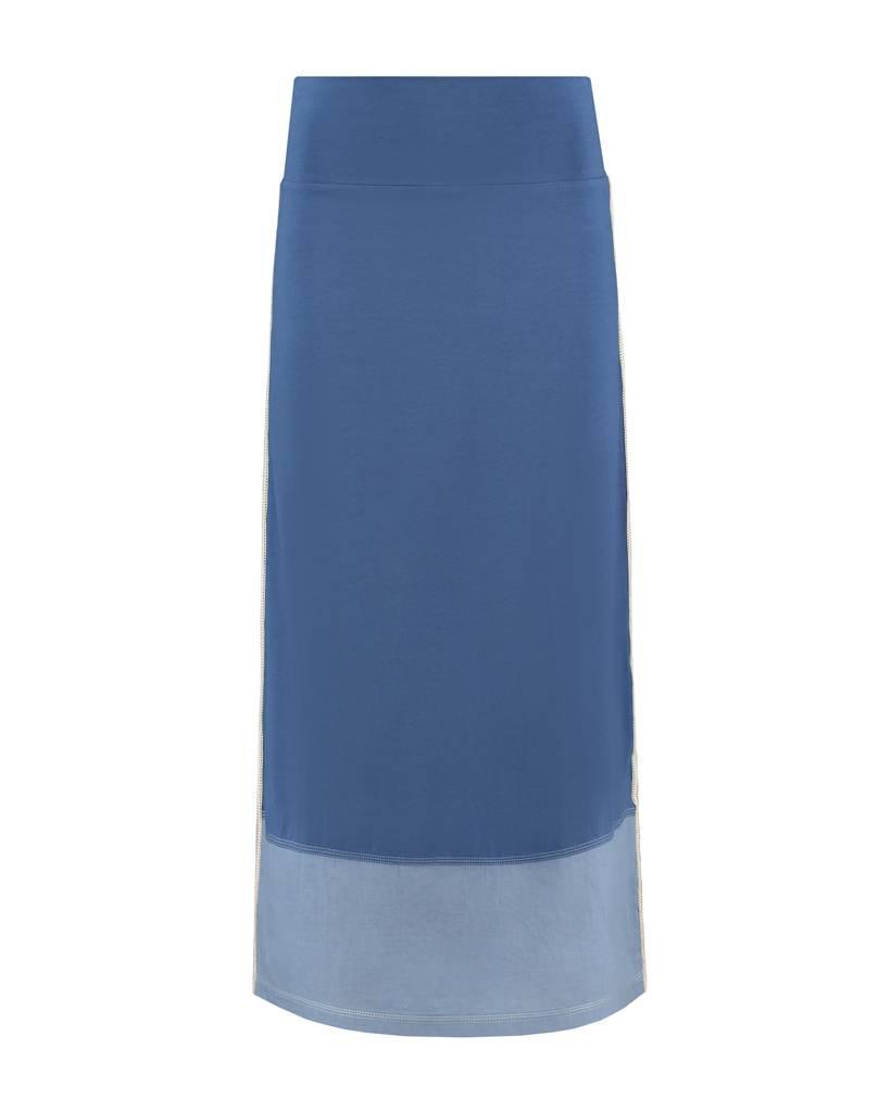 SYLVER Mix & Match Skirt - Grey Blue