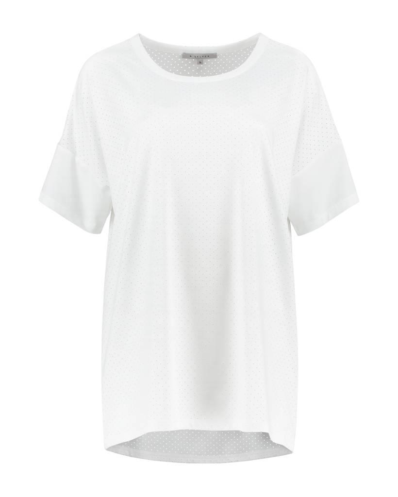 SYLVER Silky Jersey Shirt - White