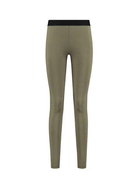 SYLVER Silky Jersey Legging - Army
