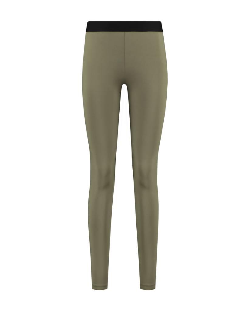 SYLVER Silky Jersey Legging - Legergroen