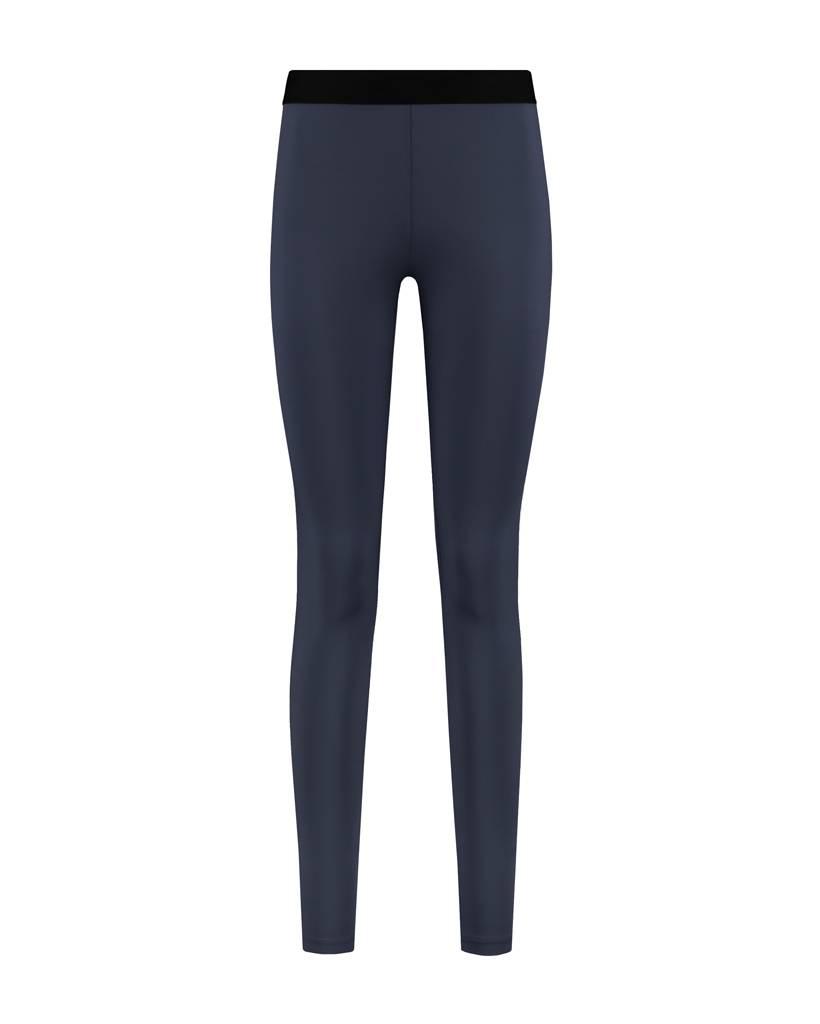 SYLVER Silky Jersey Legging - Donkerblauw