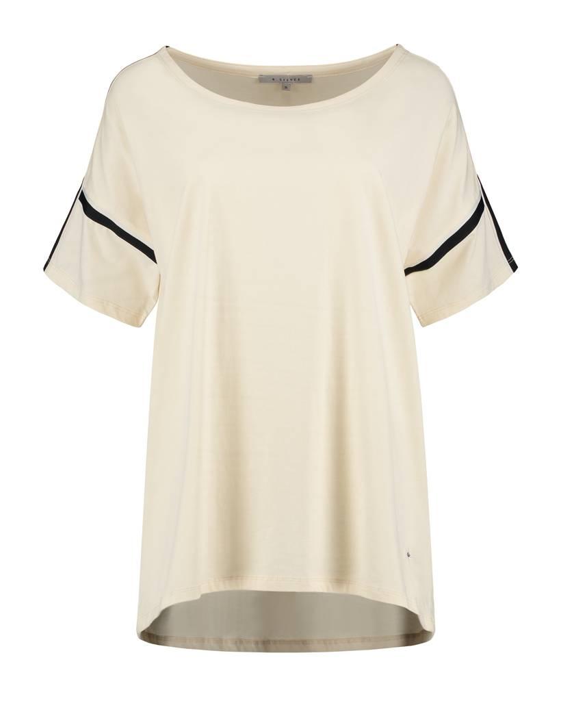 SYLVER Cotton Elasthane Shirt - Cream