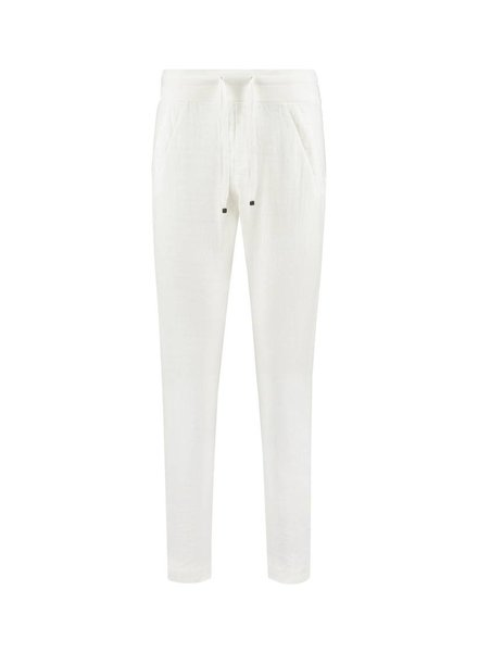 SYLVER Sweat Combi Linen Pants - Off white