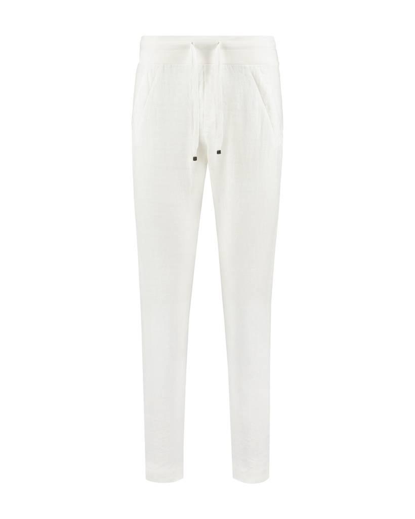 SYLVER Sweat Combi Linen Pants - Gebroken wit