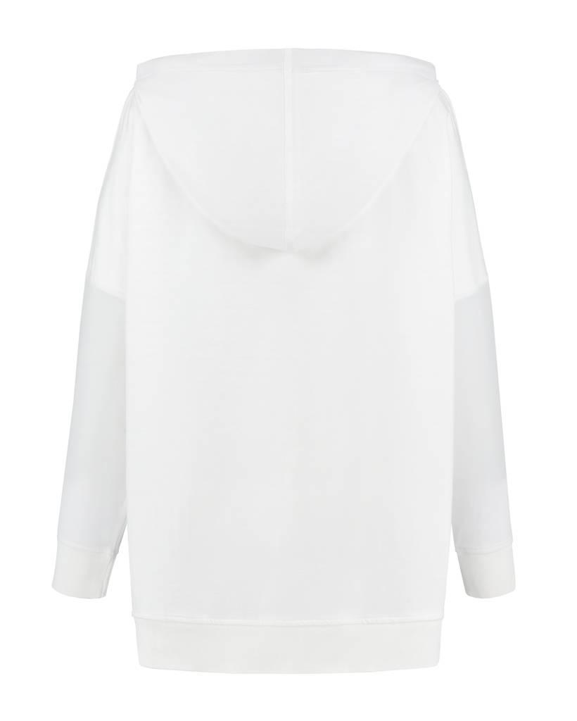 SYLVER Light Slub Sweater - Wit