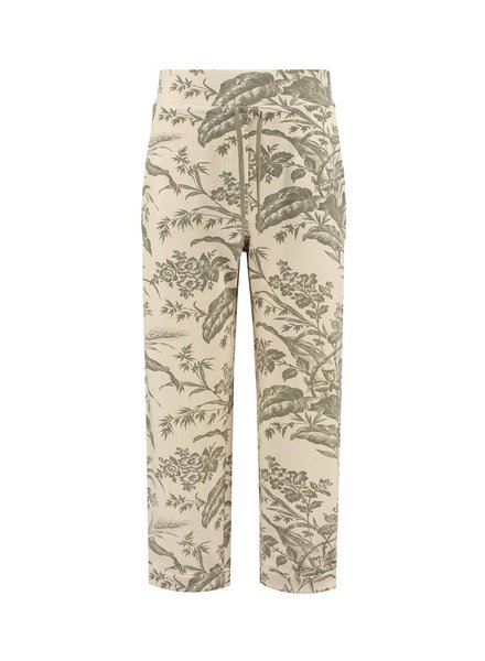 SYLVER Flower Sweat Trousers - Army
