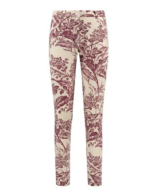 SYLVER Flower Sweat Pants - Warm Red