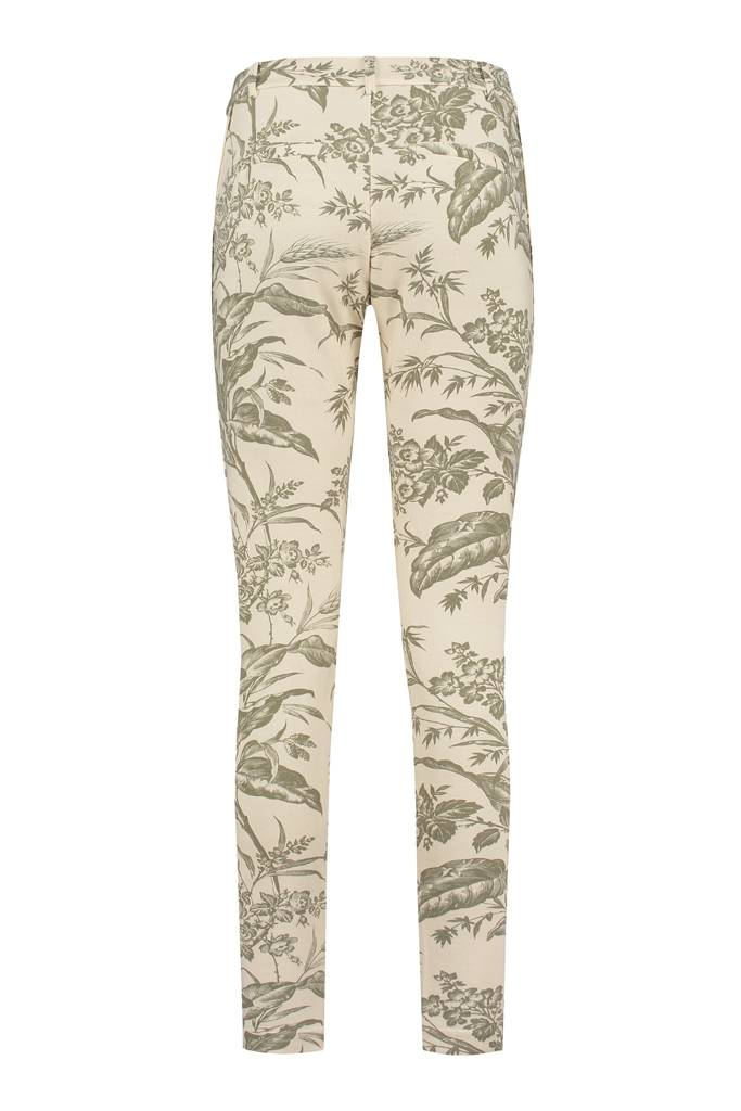 SYLVER Flower Sweat Pants - Army