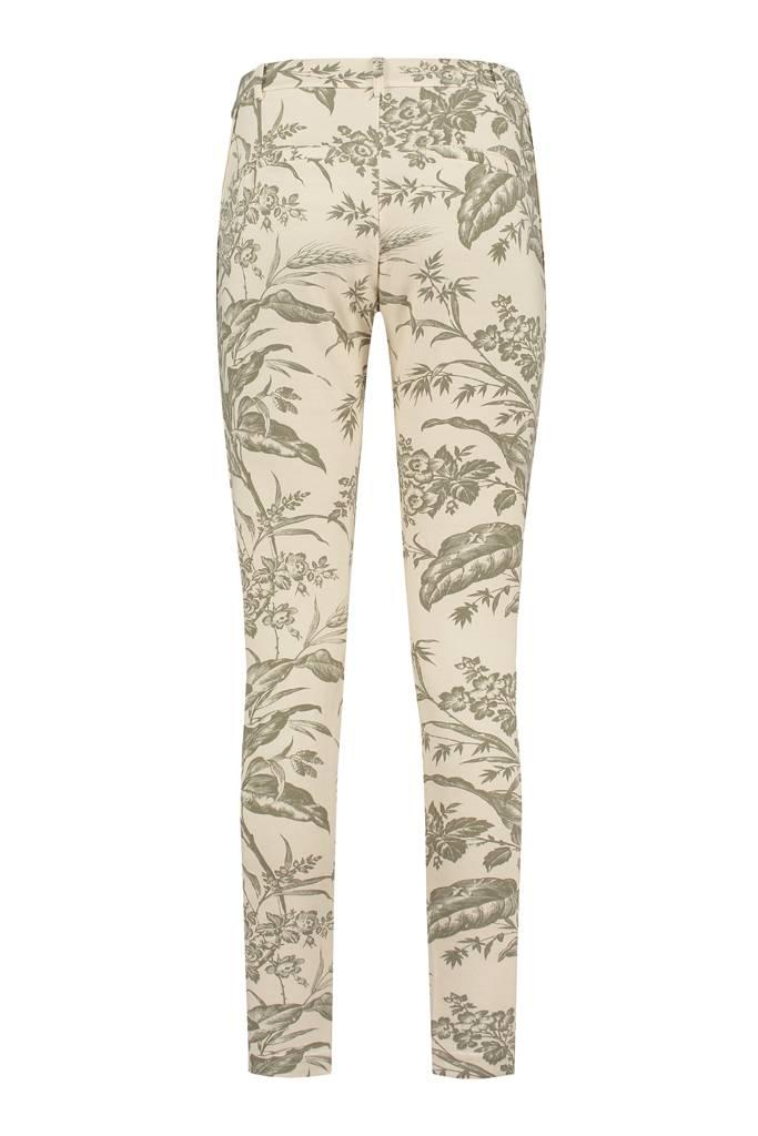 SYLVER Flower Sweat Pants - Legergroen
