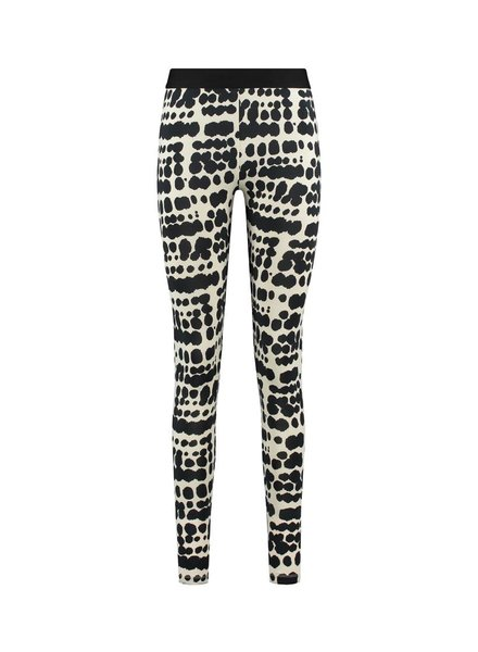 SYLVER Silky Animal Legging - Black