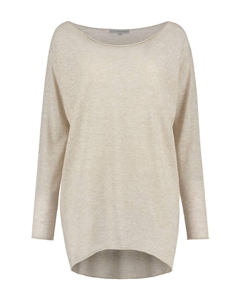 SYLVER Gauze Shirt Long Sleeve - Beige