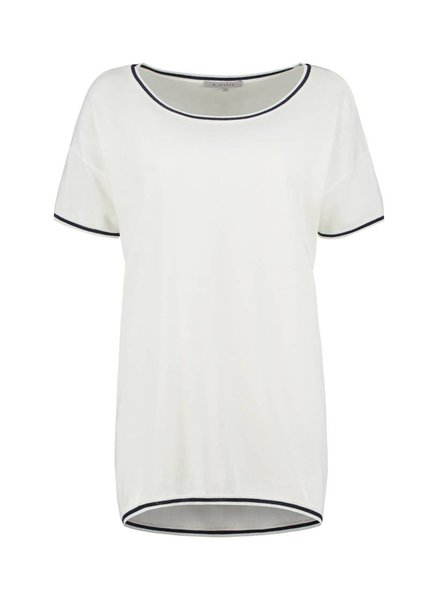 SYLVER High Twisted Pull Short Sleeve - Wit
