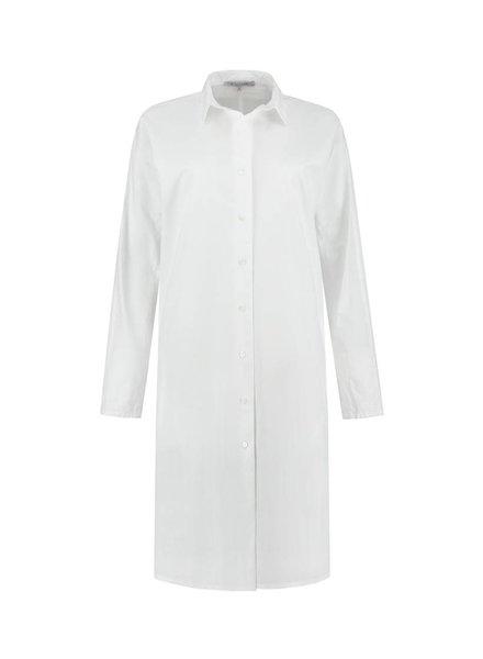 SYLVER Poplin Blouse Long - White