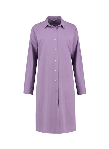 SYLVER Poplin Blouse Long - Light Purple