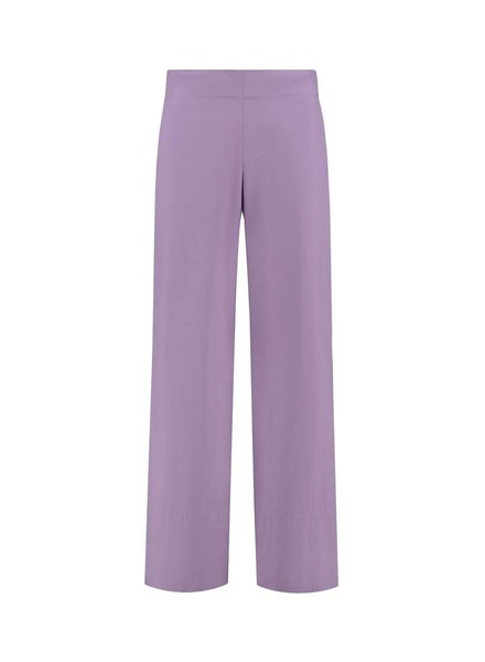 SYLVER Poplin Trousers Fashion - Light Purple