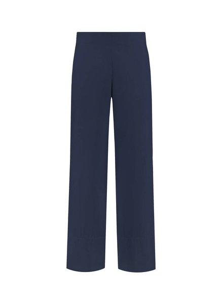 SYLVER Poplin Trousers Fashion - Donkerblauw