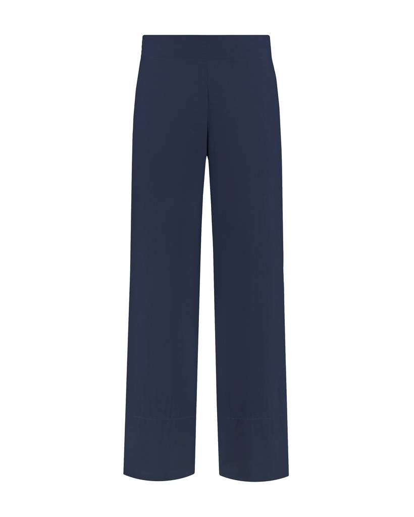 SYLVER Poplin Trousers Fashion - Donkerblauw
