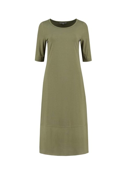 SYLVER Crêpe combi Dress - Army