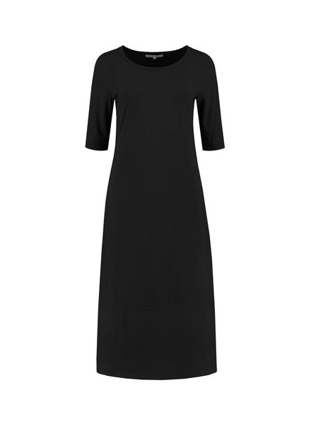 SYLVER Crêpe combi Dress - Black