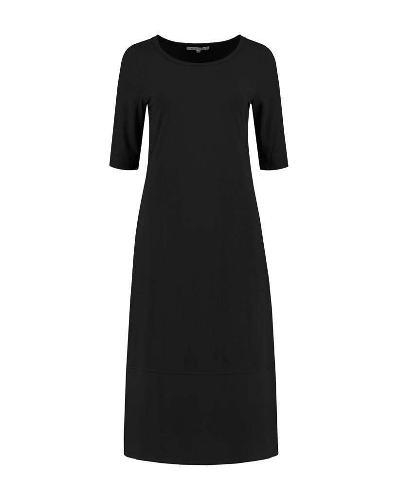 SYLVER Crêpe combi Dress - Zwart