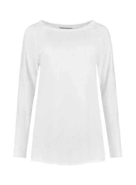 SYLVER Crêpe combi  Shirt - Wit