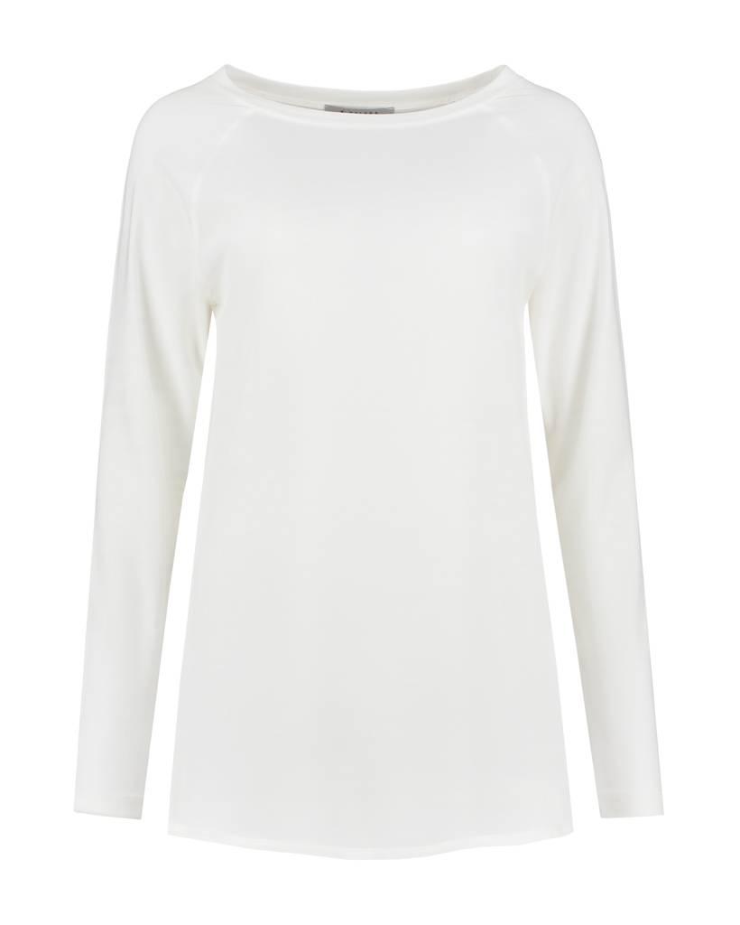 SYLVER Crêpe combi  Shirt - Off white