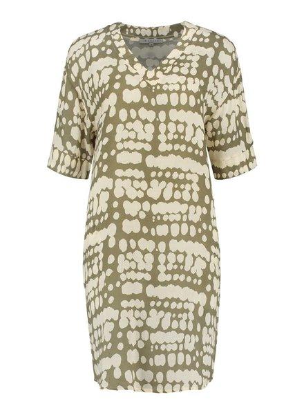 SYLVER Animal Dress - Legergroen